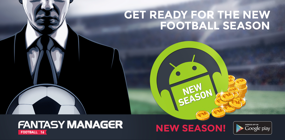 GET READY FOR THE NEW SEASON OF FOOTBALL!