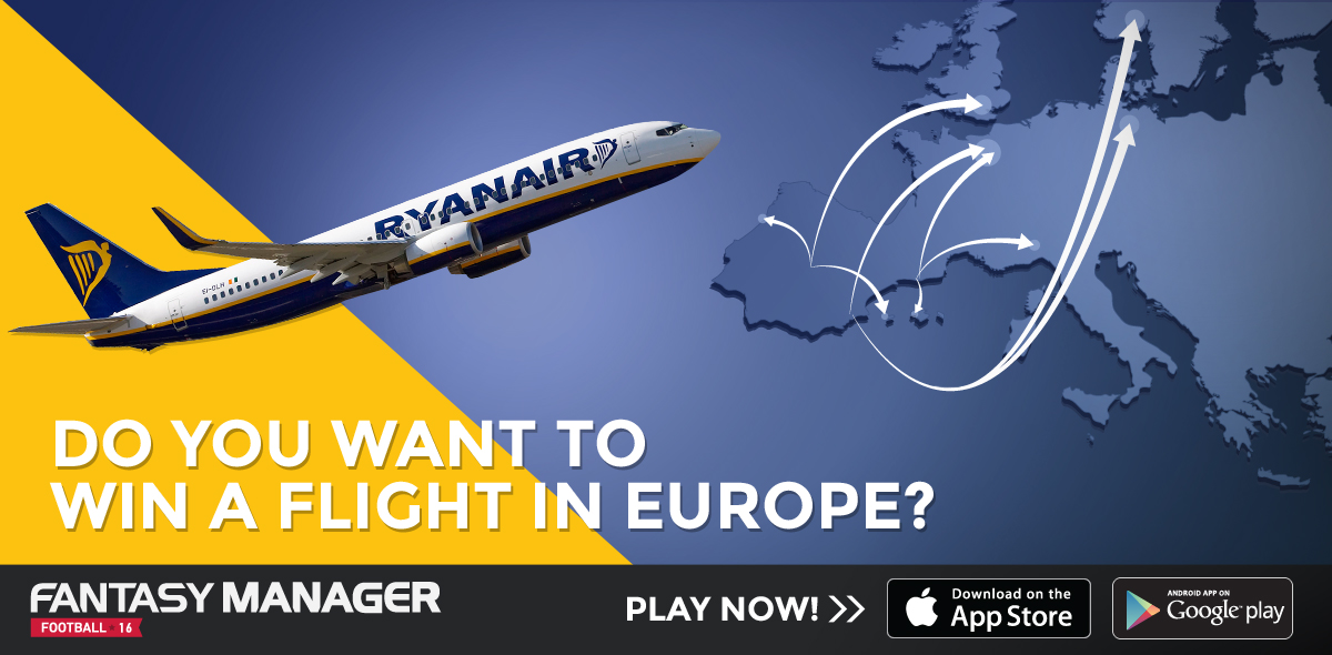 WIN A FLIGHT IN EUROPE COURTESY OF RYANAIR