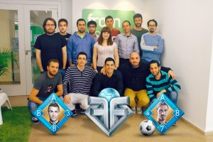 Flip Football Team - From The Bench