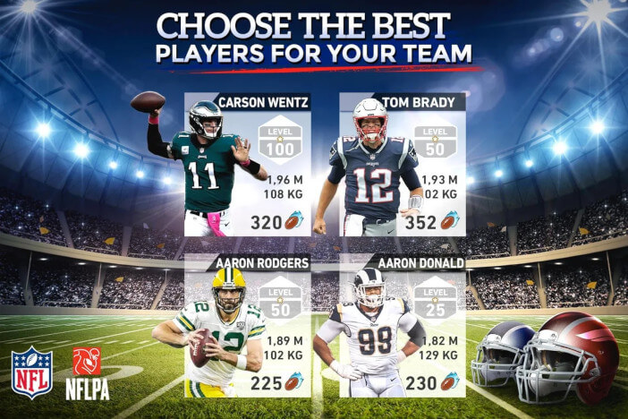 NFL MANAGER 19 - CHOOSE THE BEST PLAYERS